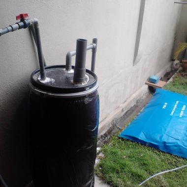 160 liter digester