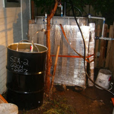 This build at Mike Rimoin´s student housing co-op in Seattle, was Solar CITIES 20th biodigester build.